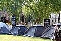 Tents at parliament square.JPG