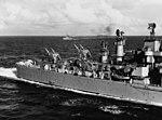 Terrier missile launchers aboard USS Boston (CAG-1), 15 July 1959 (NH 98290).jpg