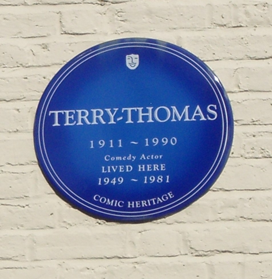 Terry-Thomas' blue plaque