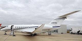 Medium-size American business jet first flown in 2016