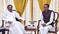The Chief Minister of Madhya Pradesh, Shri Shivraj Singh Chouhan calling on the Vice President, Shri M. Venkaiah Naidu, in New Delhi on November 16, 2017 (1).jpg