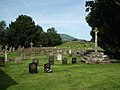 The Churchyard, St Cadoc's church, Llangattock-Juxta-Usk - geograph.org.uk - 1432198.jpg