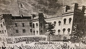 History of The Citadel, The Military College of South Carolina - The Citadel at the start of the Civil War