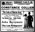 The Code of Marcia Gray - 1916 - newspaperad.jpg