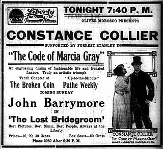 <i>The Code of Marcia Gray</i> 1916 film by Frank Lloyd