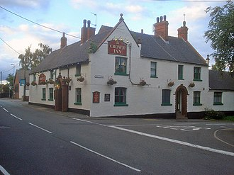 Heather, Leicestershire - Image: The Crown Inn geograph.org.uk 1499661