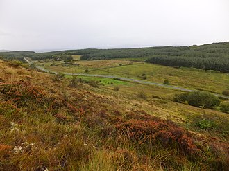 Battle of Curlew Pass - The site of the battle is just over 2km west of the N4
