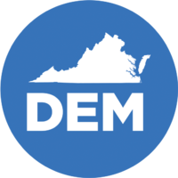 The Democratic Party of Virginia Logo