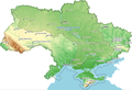 The Dnieper river basin in Ukraine border.png