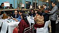 The Electoral officials counting votes for the Delhi Assembly Election, at a centre, in New Delhi on February 10, 2015.jpg