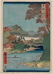 Yamato Tatsuta-yama Tatsuta-gawa