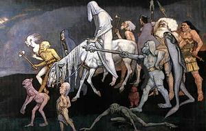 Fomorians - The Fomorians, as depicted by John Duncan (1912)