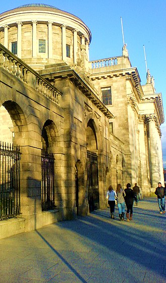 Four Courts - The Four Courts at Inns Quay