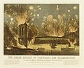 The Grand Display of Fireworks and Illuminations at the Opening of the Great Suspension Bridge Between New York and Brooklyn on the Evening of May 24, 1883. View from New York Looking towards Brooklyn. MET DR294.jpg