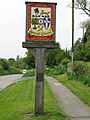 The Great Chart village sign on the Ashford Road - geograph.org.uk - 1272493.jpg