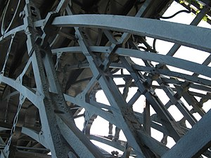 The Iron Bridge - Details from below