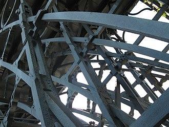 The Iron Bridge - Details from below
