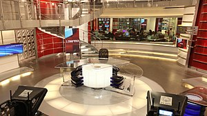 Israel Television News Company - Image: The Israeli News Company (Channel 2) Main studio