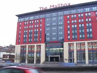 BBC WM - The Mailbox, home to BBC WM's studios in Birmingham