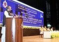"The Minister of State for Home Affairs, Shri Hansraj Gangaram Ahir addressing the ""Cyber Safety and Digital awareness programme for senior citizens"", in New Delhi on July 05, 2018.JPG"