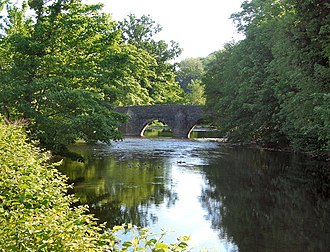 Merthyr Mawr - The Ogmore River and New Inn Bridge
