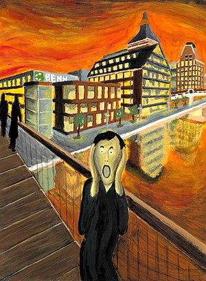 The poor man's Scream