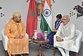 The Prime Minister, Shri Narendra Modi meeting the King Mohammed VI of Morocco, on the sidelines of the 3rd India Africa Forum Summit 2015, in New Delhi on October 29, 2015 (1).jpg