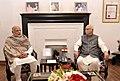 The Prime Minister, Shri Narendra Modi meets and wishes Shri L.K. Advani on his birthday, in New Delhi on November 08, 2015 (1).jpg