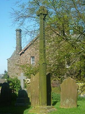 William Slater Calverley - The Replica Gosforth Cross at Aspatria