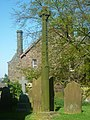The Replica Gosforth Cross, Aspatria.JPG