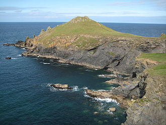 Promontory fort - The Rumps in North Cornwall