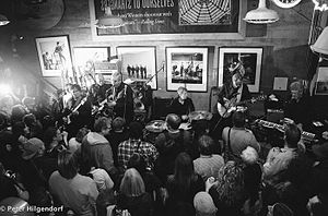 Easy Street Records - The Sonics perform at Easy Street Records on Record Store Day 2015 - Photo: Peter Hilgendorf