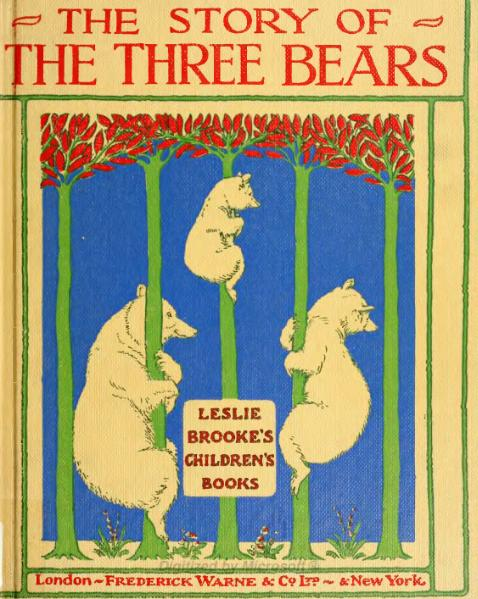 File:The Story of the Three Bears.djvu