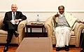 The US Defence Secretary, Dr. Robert Gates called on the Defence Minister, Shri A. K. Antony, in New Delhi on January 20, 2010.jpg