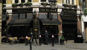 The Walrus and the Carpenter - Pub on Monument Street, London