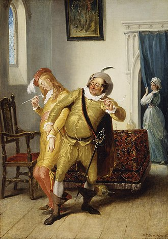 William Hamilton (painter) - Image: The carousing of Sir Toby Belch and Sir Anthony Aguecheek (Hamilton, 1792)