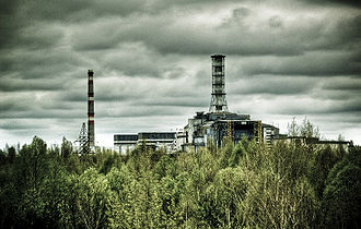 The Chernobyl reactor