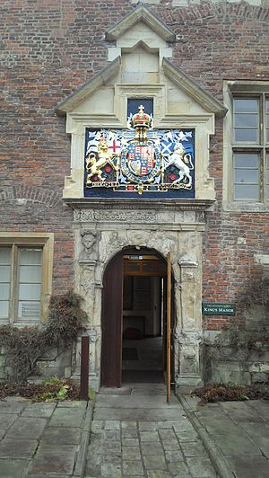 Department of Archaeology at the University of York - The main entrance to King's Manor