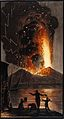 The eruption of Mount Vesuvius in the night of 8 August 1779 Wellcome V0025301.jpg