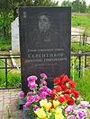 The grave of the Hero of the Soviet Union Dmitry Sergienkov..JPG
