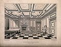 The interior and Council Room, Heriots Hospital, Edinburgh, Wellcome V0012591.jpg