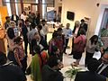 The participants socializing after the panel discussions at Otivr Event.jpg