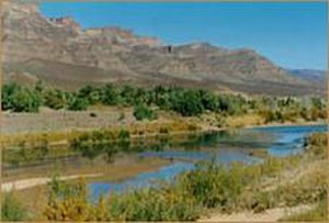 Draa River - The Draa river