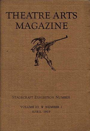 Theatre Arts Magazine - April 1919 cover