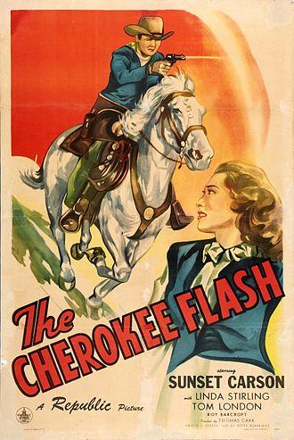 The Cherokee Flash - Image: Thecherokeeflash 1945 poster