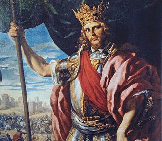 Visigothic Kingdom - Theodoric I by Fabrizio Castello (1560–1617).