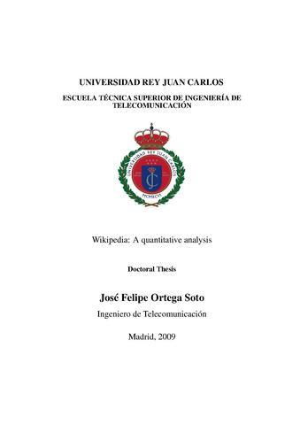 Dissertation proposal wikipedia