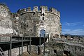 Thessaloniki, Nördliche Stadtmauer (Τείχη της Θεσσαλονίκης) (4. Jhdt.), Rundturm aus osmanischer Periode (46926105345).jpg