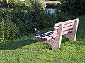 This seat is taken - Queen Elizabeth Gardens - geograph.org.uk - 478896.jpg