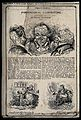 Three vignettes of phrenological heads and two phrenological Wellcome V0011122.jpg